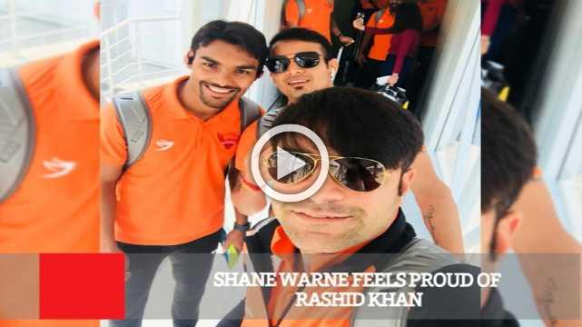 Shane Warne Feels Proud Of Rashid Khan