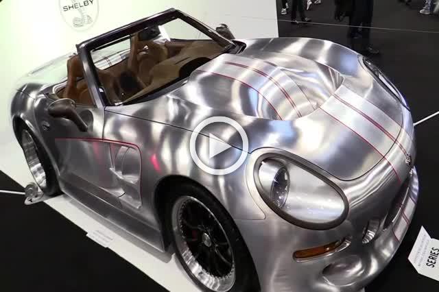 Shelby Series II Aluminium Body Super Car Walkaround Part I