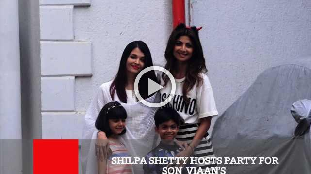 Shilpa Shetty Hosts Party For Son Viaan's