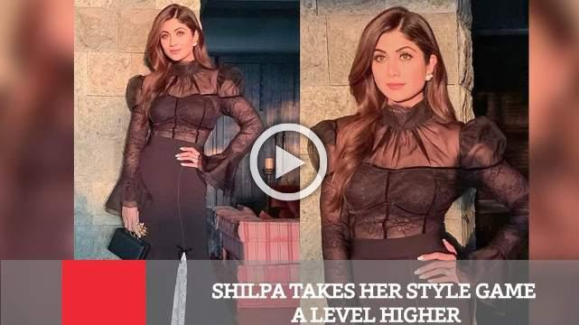 Shilpa Takes Her Style Game A Level Higher