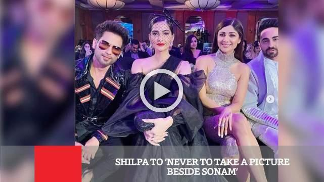 Shilpa To 'Never To Take A Picture Beside Sonam'