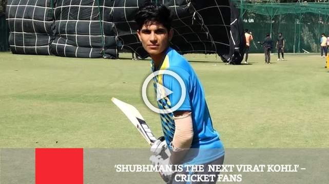 Shubhman Is The  Next Virat Kohli' – Cricket Fans