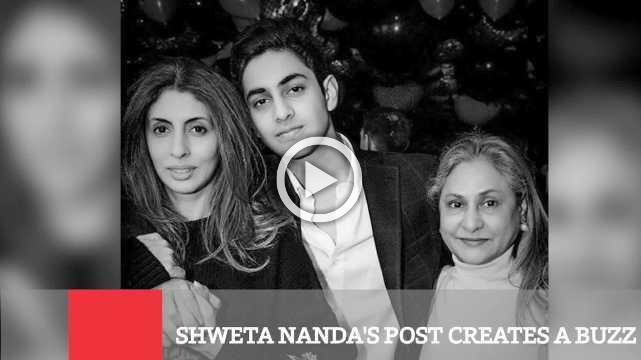 Shweta Nanda's Post Creates A Buzz !!