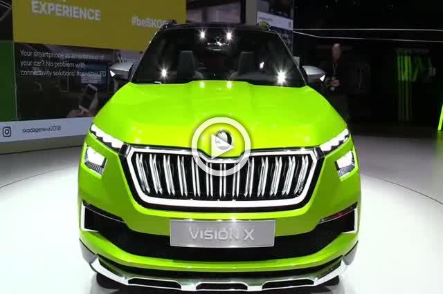 Skoda Vixion X Concept Walkaround Part II