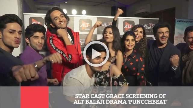 Star Cast Grace Screening Of Alt Balaji Drama 'Puncchbeat'
