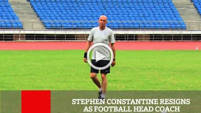 Stephen Constantine Resigns As Football Head Coach