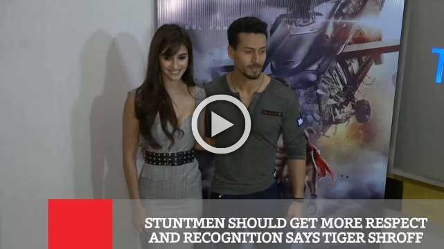 Stuntmen Should Get More Respect And Recognition Says Tiger Shroff