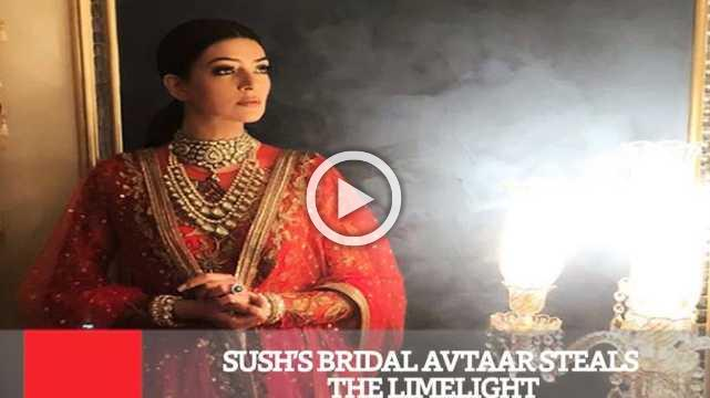 Sush's Bridal Avtaar Steals The Limelight