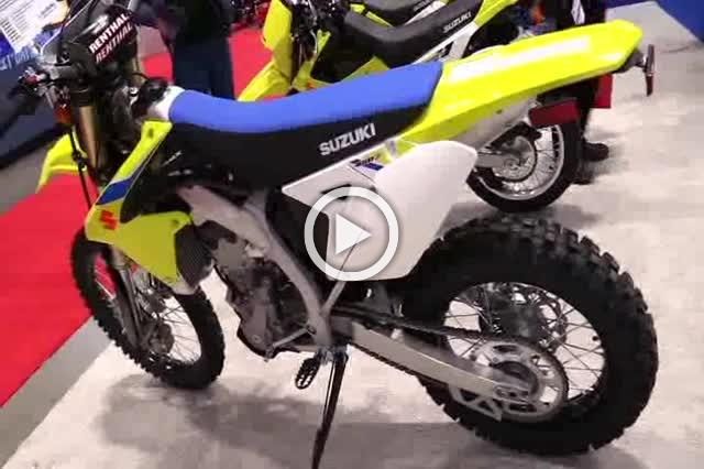 Suzuki RMX 450 Z Motorcycle Show Part I