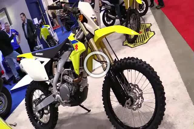 Suzuki RMX 450 Z Motorcycle Show Part II