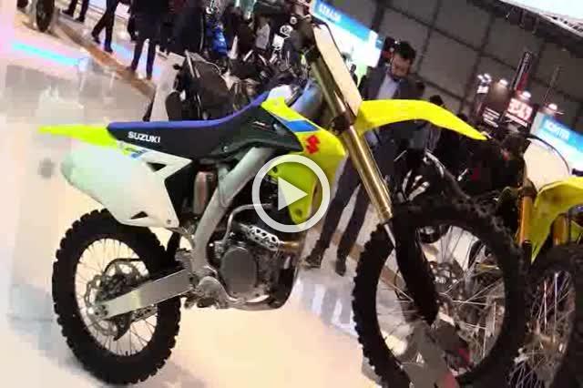 Suzuki RMZ 250 Walkaround Motorcycle Exhibition