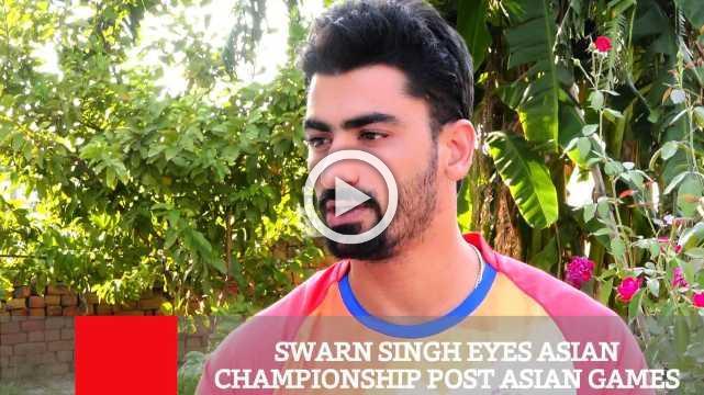 Swarn Singh Eyes Asian Championship Post Asian Games Win