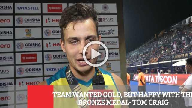 Team Wanted Gold, But Happy With The Bronze Medal- Tom Craig