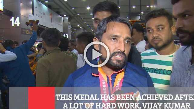 This Medal Has Been Achieved After A Lot Of Hard Work, Vijay Kumar