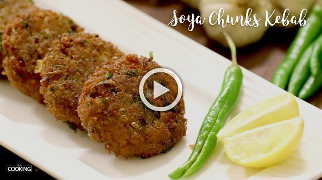 Soya Chunks Kebab | Soyabean Kebab