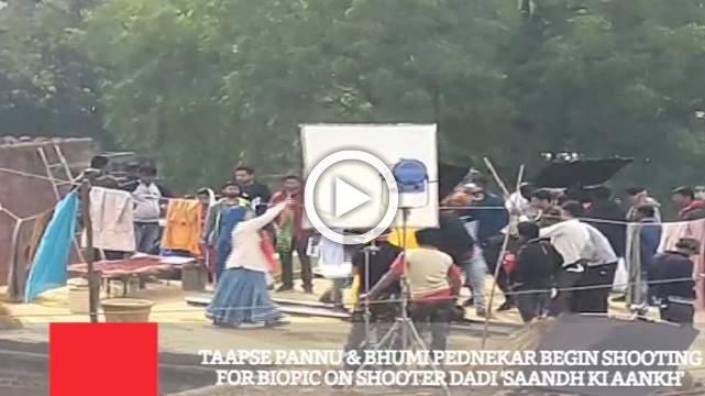 Taapse Pannu & Bhumi Pednekar Begin Shooting For Biopic On Shooter Dadi 'Saandh Ki Aankh'