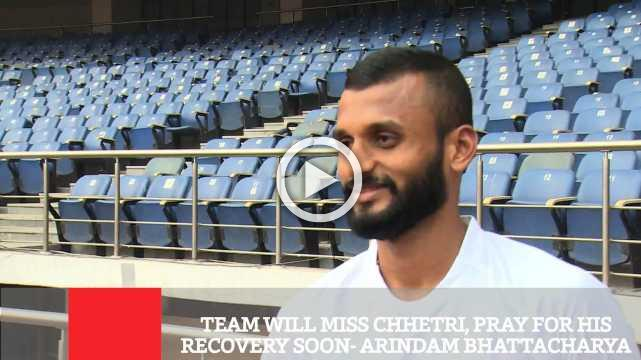 Team Will Miss Chhetri, Pray For His Recovery Soon- Arindam Bhattacharya