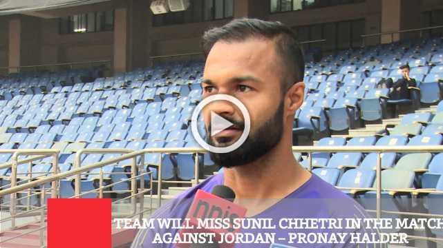 Team Will Miss Sunil Chhetri In The Match Against Jordan – Pronay Halder