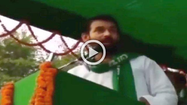 Tej Pratap Threatens To Beat Sushil Modi At His Son's Wedding