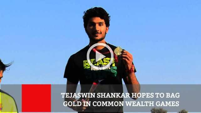 Tejaswin Shankar Hopes To Bag Gold In Common Wealth Games