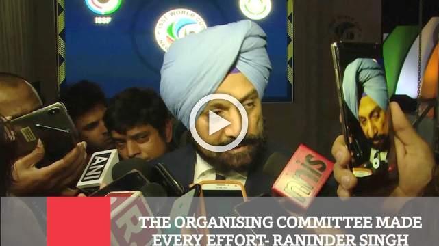 The Organising Committee Made Every Effort- Raninder Singh