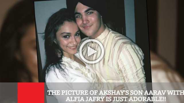 The Picture Of Akshay's Son Aarav With Alfia Jafry Is Just Adorable!!