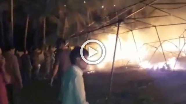 Three Girls Dead And A Dozen Injured As Fire Breaks Out In Shivir