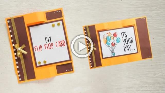 DIY Flip Flop Card