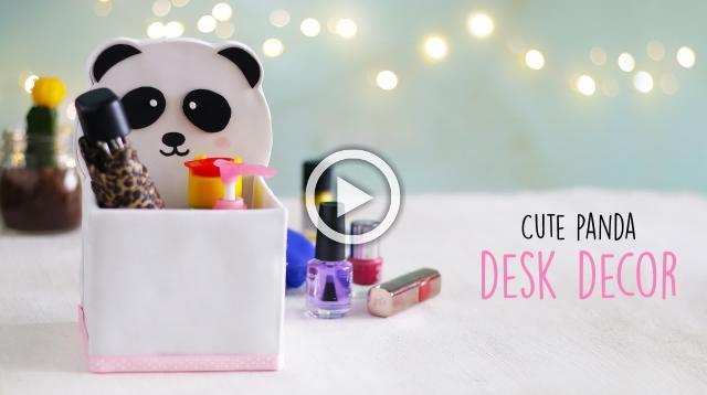 Cute Panda Desk Decor