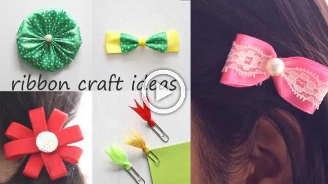 Ribbon Craft Ideas