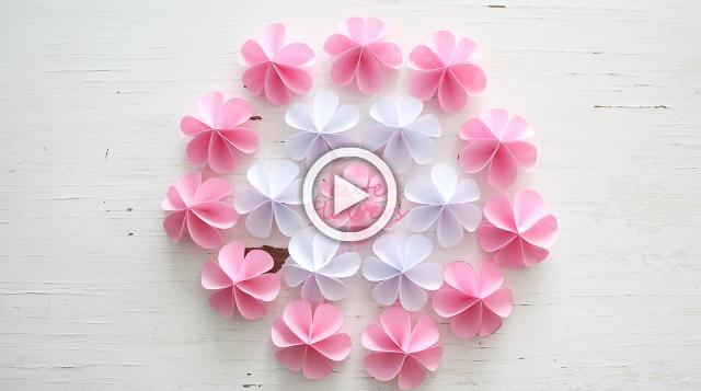 DIY Cute Paper Flowers