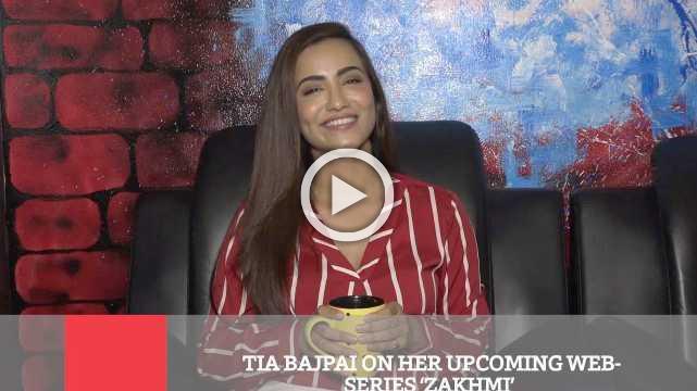 Tia Bajpai On Her Upcoming Web Series 'Zakhmi'