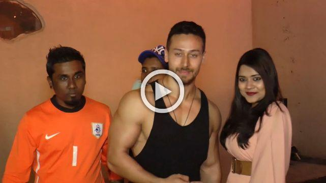 Tiger Shroff Spotted Sweating It Out