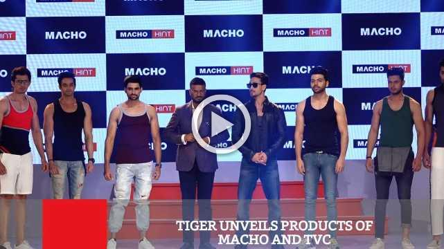 Tiger Unveils Products Of Macho And TVC