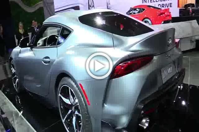 Toyota Supra Exterior and Interior Walkaround Auto Show Part II