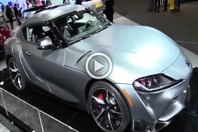 Toyota Supra Exterior and Interior Walkaround Auto Show Part I