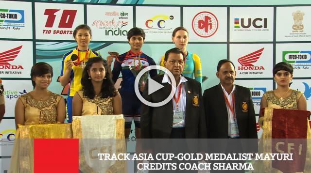 Track Asia Cup-Gold Medalist Mayuri Credits Coach Sharma