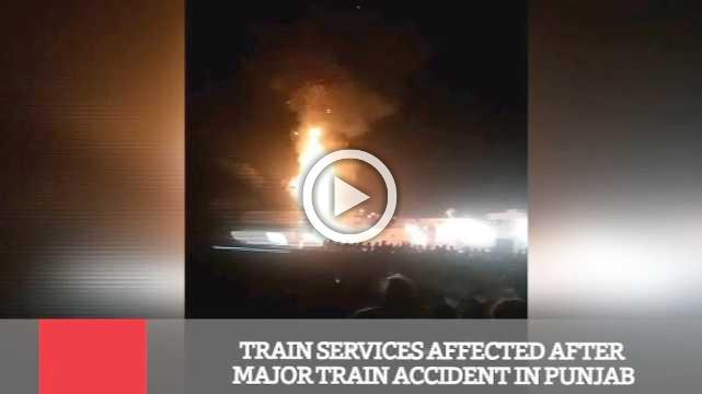 Train Services Affected After Major Train Accident In Punjab