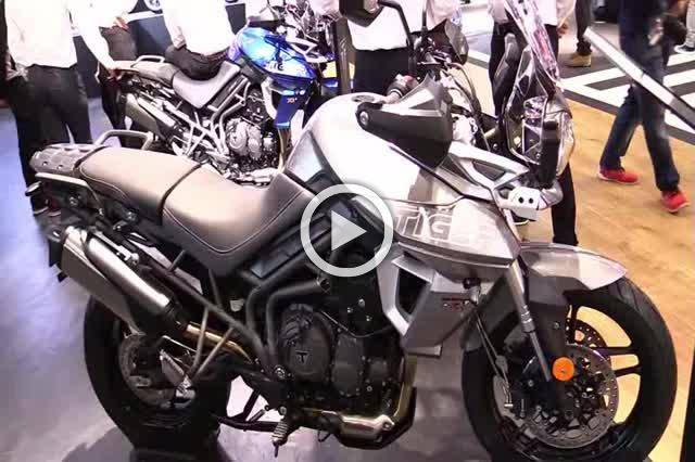Triumph Tiger 800 XRX Walkaround Motorcycle Exhibition Part II