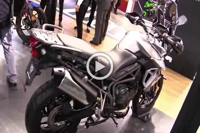 Triumph Tiger 800 XRX Walkaround Motorcycle Exhibition Part I