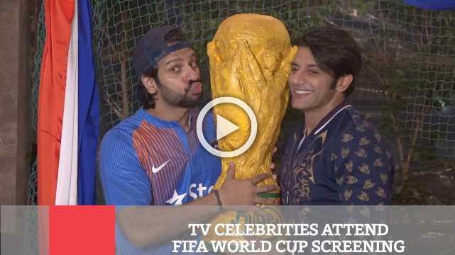 TV Celebrities Attend FIFA World Cup Screening