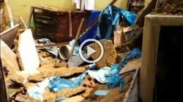 Two Die As Roof Of A House Collapses In Dwarka