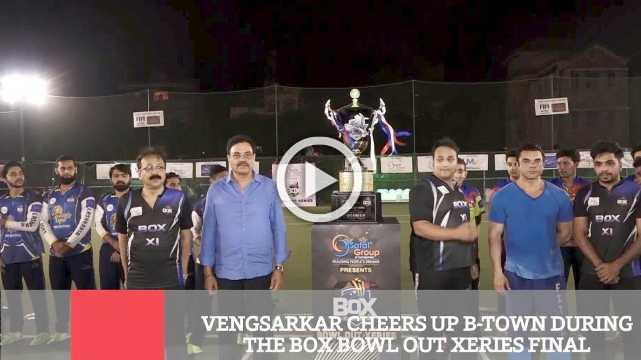 Vengsarkar Cheers Up B-Town During The Box Bowl Out Xeries Final