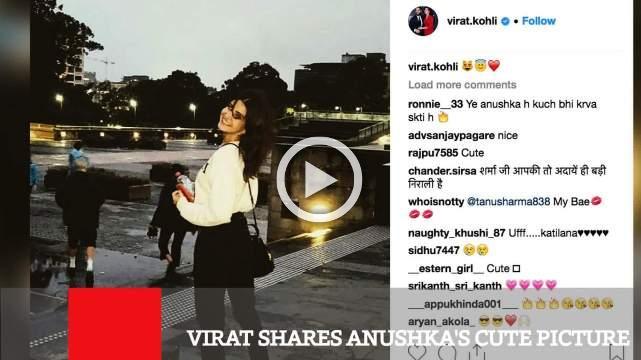 Virat Shares Anushka's Cute Picture