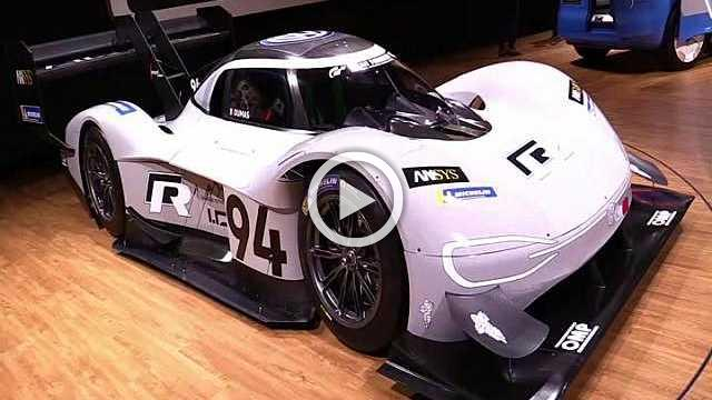 Volkswage Pikes Peak Record Holding Electric Car Walkaround Part II