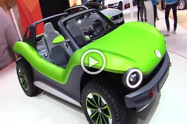 Volkswagen ID Buggy Concept Exterior and Interior Walkaround Part I