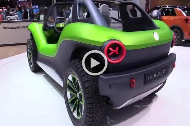 Volkswagen ID Buggy Concept Exterior and Interior Walkaround Part II