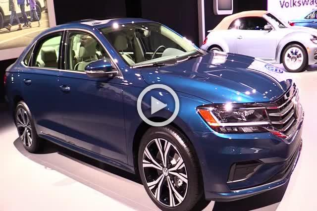 Volkswagen Passat Exterior and Interior Walkaround Part I