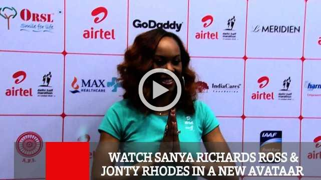 Watch Sanya Richards Ross & Jonty Rhodes In A New Avataar