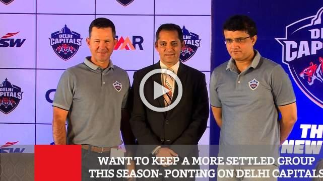 Want To Keep A More Settled Group This Season- Ponting On Delhi Capitals